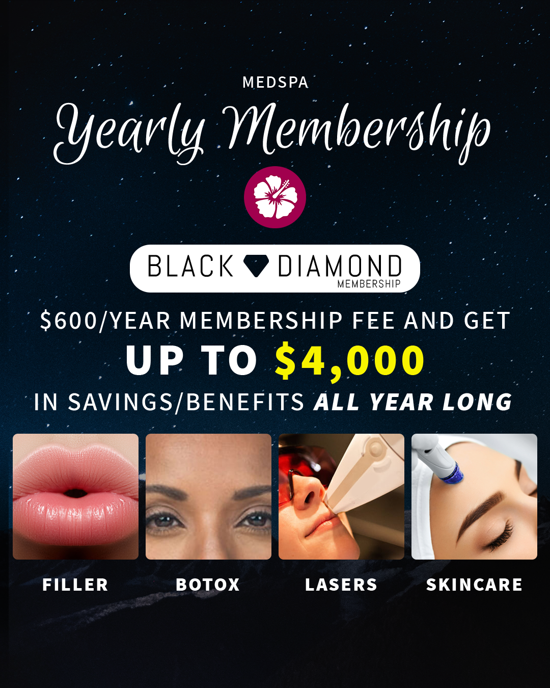 Yearly Memberships